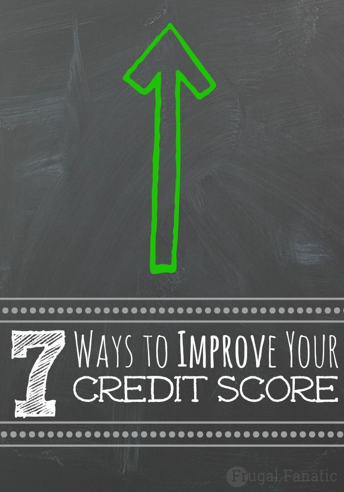 It can be difficult to try to improve your credit score if you are unsure where to start. Find out below these 7 simple steps that will help you to improve your credit score and get out of debt. Credit, Credit Scores, Credit Repair #credit #creditscore