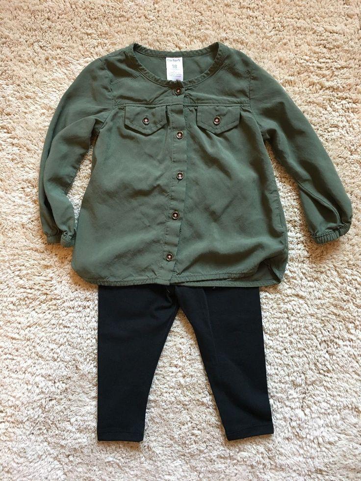 Toddler Girl Fall Fashion #fall #toddlerootd #carters