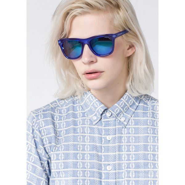 Cheap Monday Timeless Sunglasses ($40) ❤ liked on Polyvore featuring accessories, eyewear, sunglasses, uv protection glasses, plastic sunglasses, cheap monday, cheap monday glasses and cheap monday sunglasses