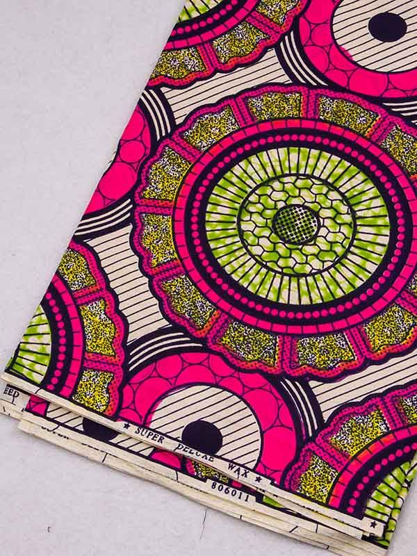 Wax Print Fabric | #africa #afrique