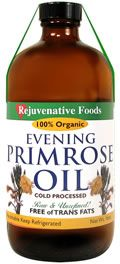 Organic Evening Primrose Oil Bottle..good for joint pain, nourish hair, scalp and nails, fight effect of aging, reduce symptoms of eczema..etc.