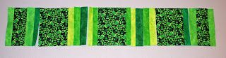 Spun Sugar Quilts: Green Beer Table Runner Tutorial