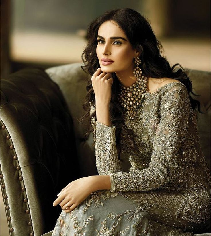 """This stunning model @imehreensyed in @republicwomenswear collection. They've recently delved into #bridalfashion and we must say, we're impressed Grab…"""