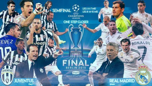 Juventus Real Madrid di Champions League