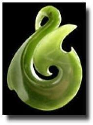 Love this Maori Jade Hei Matau (Hook) Pendant - from local mum @ Products from New Zealand.