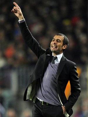 Josep Guardiola: head coach of FC Barcelona.... The very reason I watch soccer.  What?!