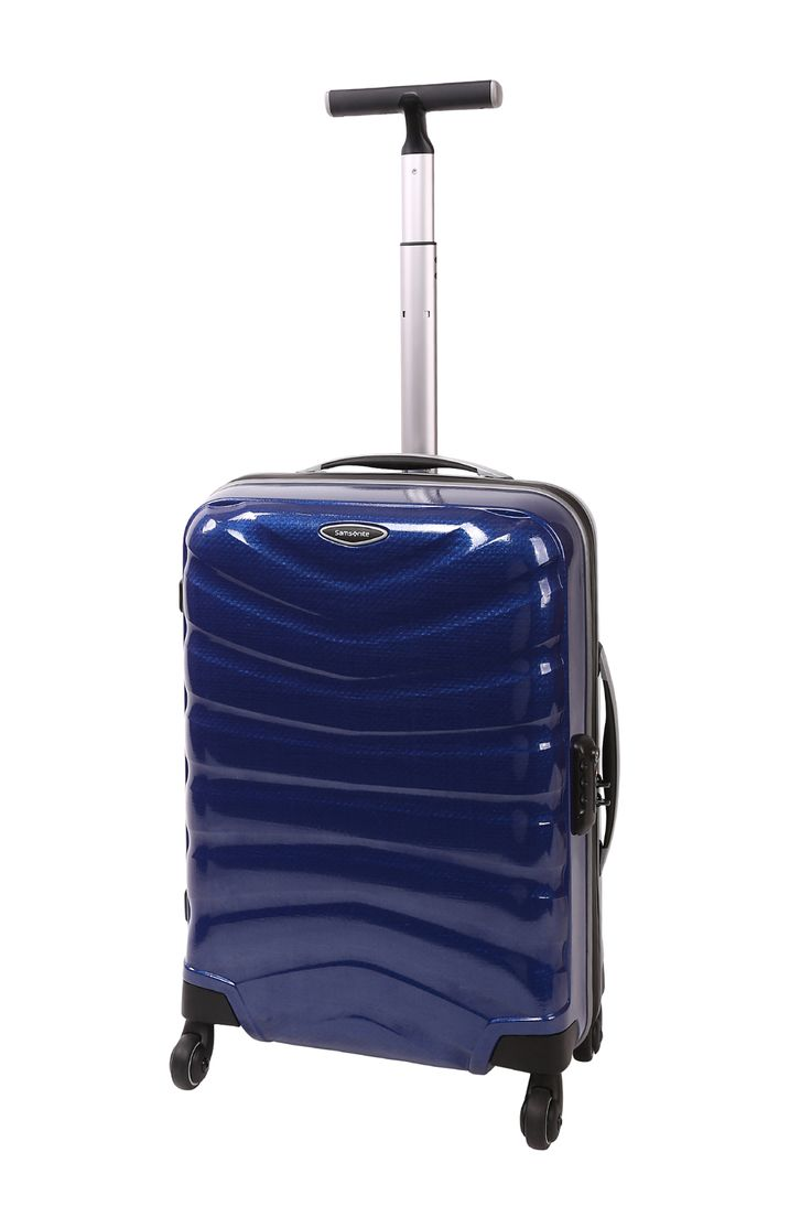 Samsonite // Firelite 55cm Spinner Case. Also available in red and charcoal.