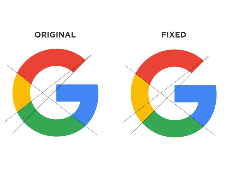 Attempting to rebalance the Google logo. It looks so awkward to me as it is...