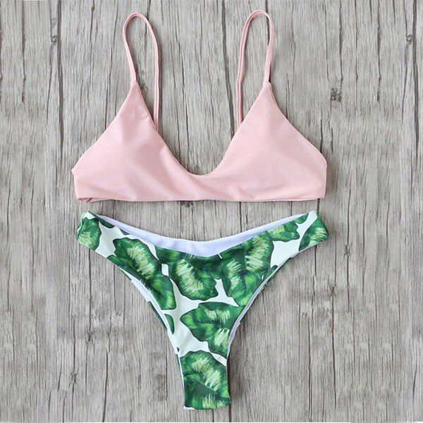 New Arrivals! Leaf Print Sexy Bikini... Loving this #Style #outfit #ootd #fashion #babe