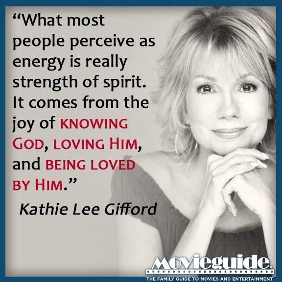 Kathie Lee Gifford......