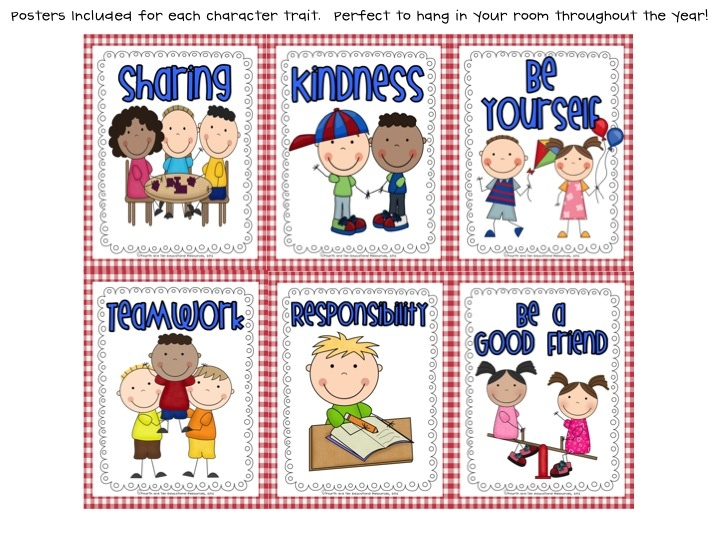 Using children's literature and food to teach character traits! :)