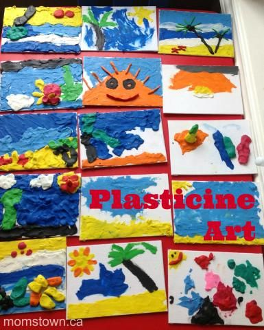plasticine art for all ages
