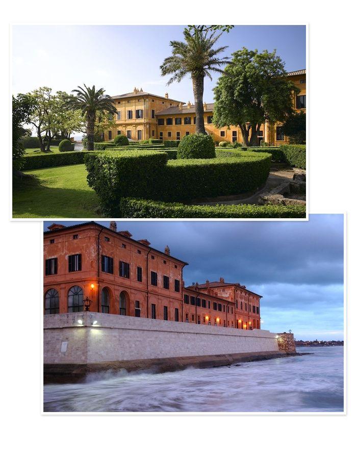 10 hotels pour une lune de miel en Italie La Posta-Vecchia, près de Rome