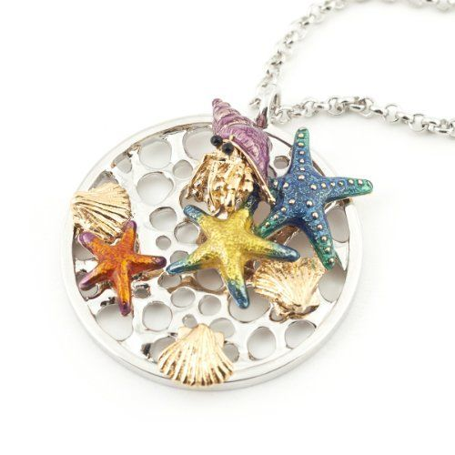 Under the Sea Pendant Necklace by Bill Skinner