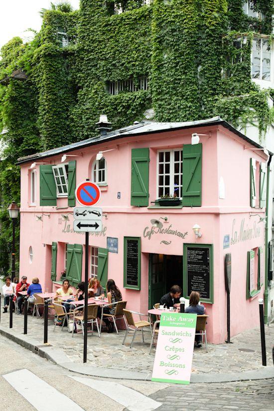 La Maison Rose, Paris (France) - photography by Tyssia
