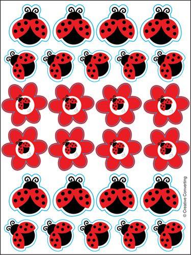 Ladybug Stickers = )                                                                                                                                                                                 Más