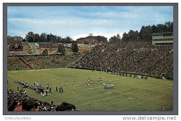 Buyer of Clemson Memorial Stadium College Football Game Old Near Mint Postcard (Q-36), see also the ratings the seller got from other members. Description from delcampe.net. I searched for this on bing.com/images
