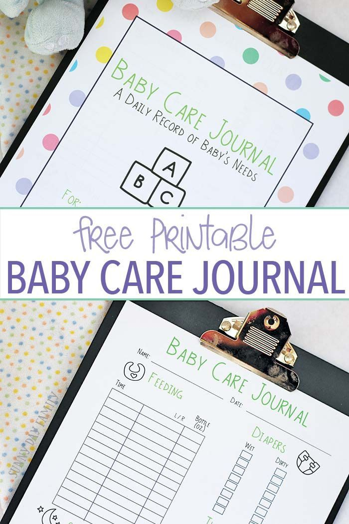 Keep track of baby's feedings, diapers, naps and more with this free printable baby care journal! A baby care log sheet to help new moms get organized and feel less overwhelmed. This twin mom's must have is perfect for all new moms - makes a great baby gift too! #BetterBottles [ad]