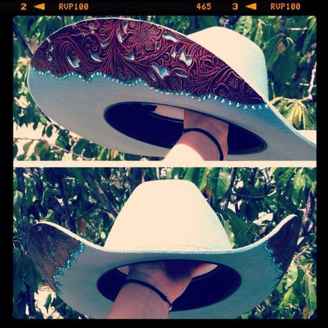 Hand painted cowboy hat. I can paint one for you! | Painted cowboy hats | Pinterest