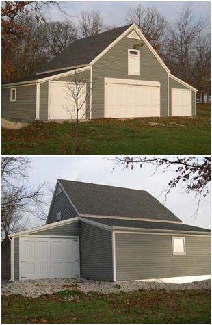 119 best garage shop images on Pinterest Driveway ideas, Garage - new blueprint for 3 car garage
