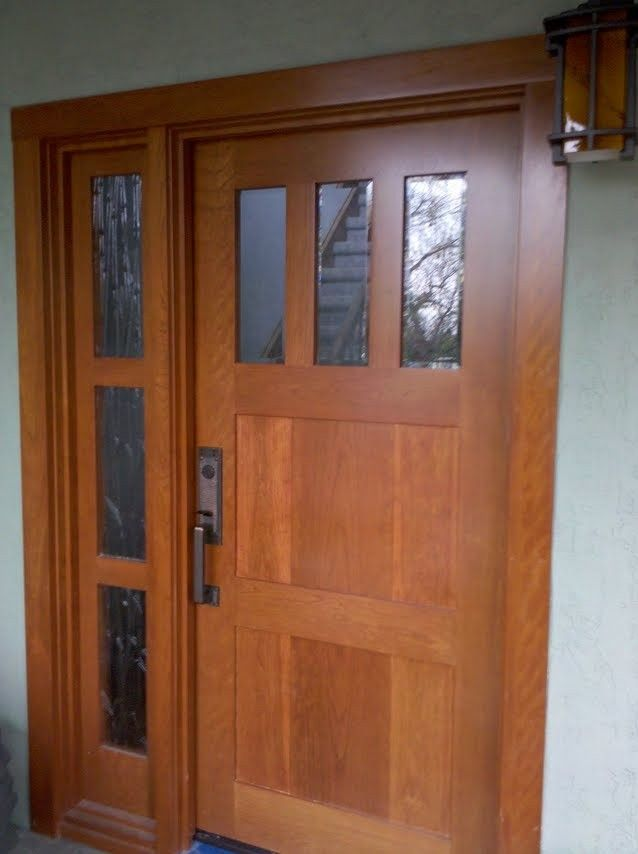 17 best images about exterior door on pinterest for Custom front doors
