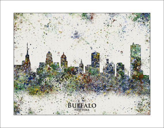Hey, I found this really awesome Etsy listing at https://www.etsy.com/listing/177723302/buffalo-skyline-buffalo-ny-buffalo-new