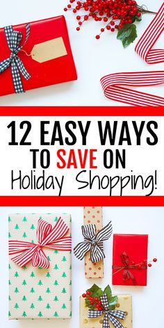 Save money on Christmas gifts this year with these helpful tips that will take your holiday season to the next level without breaking the bank! #savingmoney #holidayshopping #christmas #frugal #budget