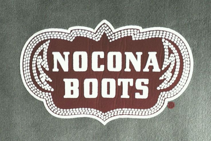 Nocona Cowboy Boots Rug Western Wear Advertising Doormat Store Display New in Clothing, Shoes & Accessories | eBay