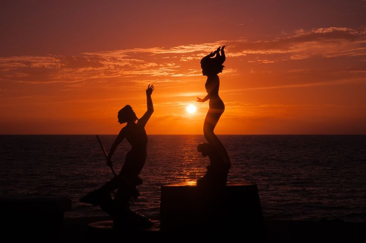 Things to Do in Puerto Vallarta: Watch the sunset from the Malecon