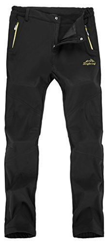 New Trending Pants: Singbring Womens Outdoor Waterproof Hiking Mountain Pants Small Black(026). Singbring Women's Outdoor Waterproof Hiking Mountain Pants Small Black(026)  Special Offer: $29.99  211 Reviews Soft shell polyesterAdjustable waist allows pant to fit comfortablyZippered front pocketsOutdoor pants for hiking,climbing,traveling,camping,mountaineering,fishing