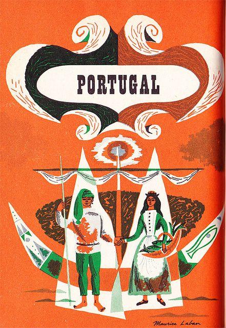 Cartel de turismo años 50.