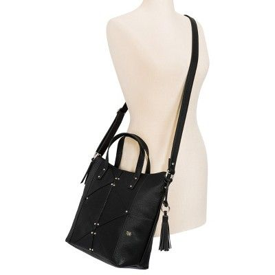 Women's Mac + Jac Tote Handbag - Black