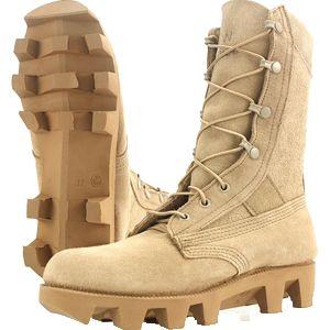 Wellco T213 Tan Blast & Mine Combat Boot