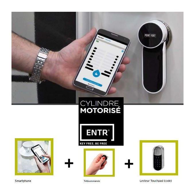 Serrure Motorisee Entr Clavier A Codes Piloter Votre Porte D Entree Via Votre Smartphone Fichet 98550010 Products In 2019 Smart Watch