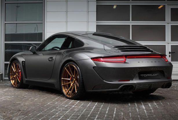 2016 Porsche 911 Carbon Fiber Wide Body Kit by TopCar