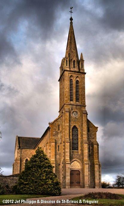 Église St-Aaron, à Saint-Aaron.