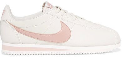 Nike - Classic Cortez Leather Sneakers - Beige. #affiliates