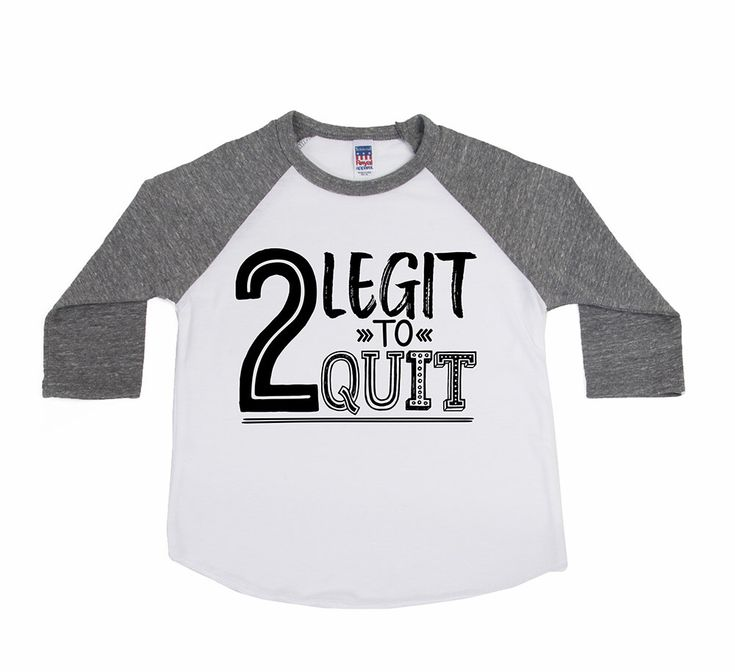DISCOUNT code ANNABELLE15 to save on entire purchase!   2 Legit to Quit Birthday Shirt - Unisex Kids' Shirts - Hipster Birthday Shirt - TWO Year Old - Second Birthday - Toddler Boy - Toddler Girl by VazzieTees on Etsy https://www.etsy.com/listing/509974581/2-legit-to-quit-birthday-shirt-unisex