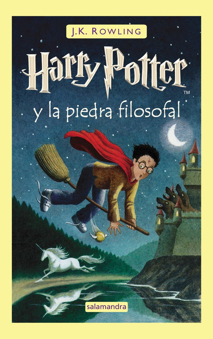 """Harry Potter y la piedra filosofal"" de J. K. Rowling"