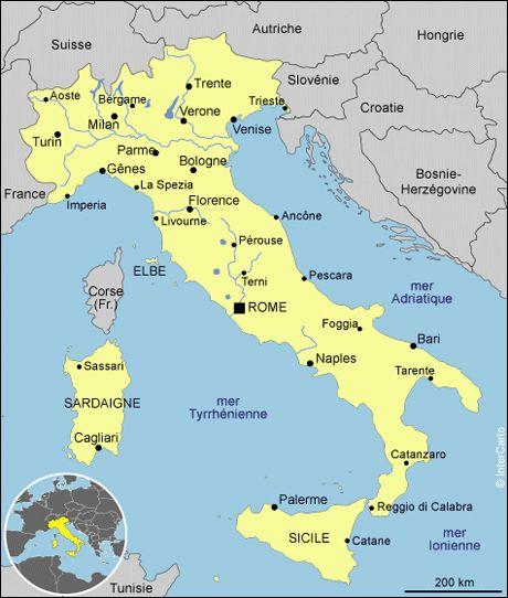 Super Les 25 meilleures idées de la catégorie Carte d' italie sur Pinterest NJ13
