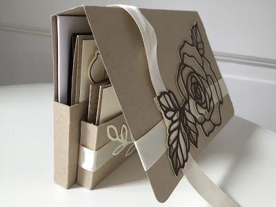 Handmade Gift Set for Cards and tags using Rose Garden and Rose Wonder by Stampin' Up - video tutorial