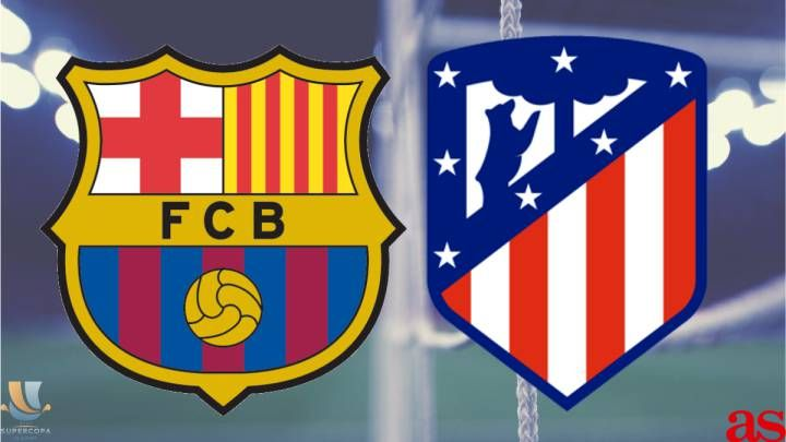Atletico Madrid Beat Barcelona To Set Up Supercopa Derby With