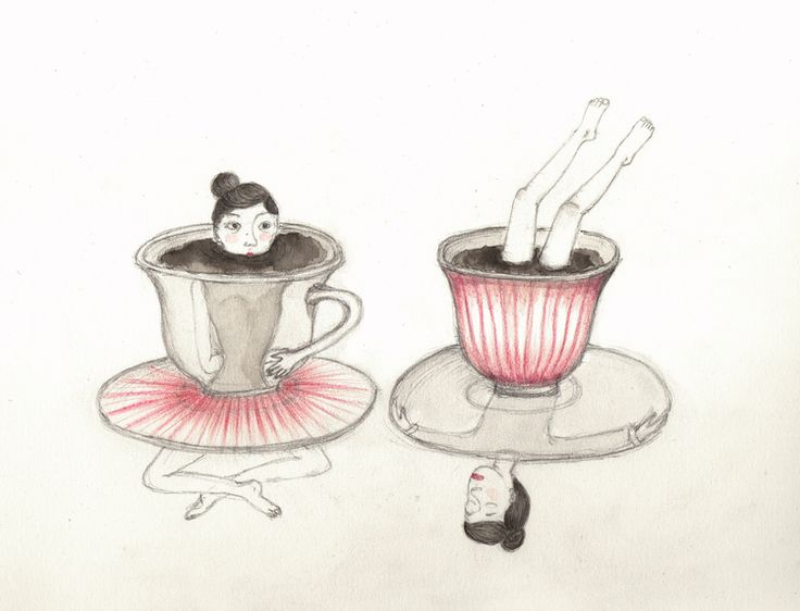 STRAWBERRYSKIRT TEA-THE INTRUDER-by valeria montemagni