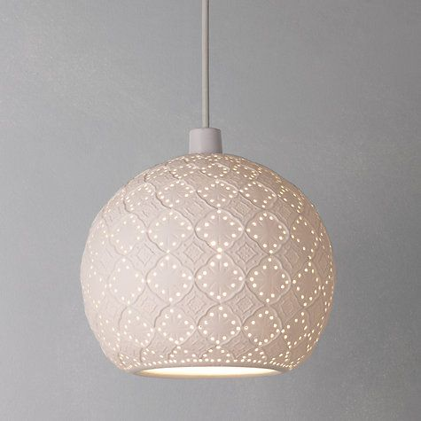 Buy John Lewis Easy-to-fit Salima Ceiling Shade Online at johnlewis.com - possibly for 2nd Bedroom