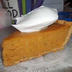 Perfect Pumpkin Pie Recipe - made with sweetened condensed milk