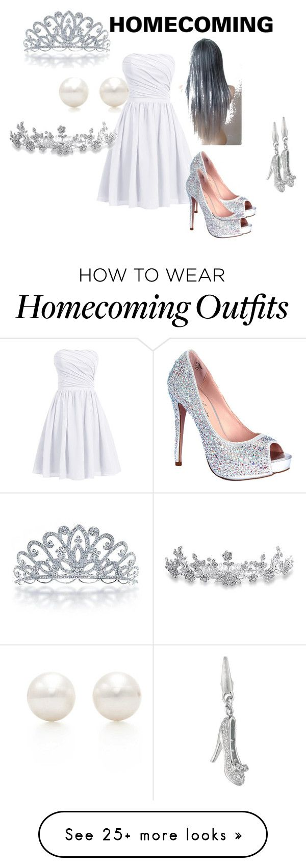 """homecoming"" by cjanuary9755 on Polyvore featuring Lauren Lorraine, Tiffany & Co. and Bling Jewelry"