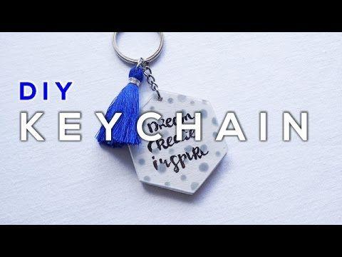 DIY Quote Tassel Keychain  - La creme