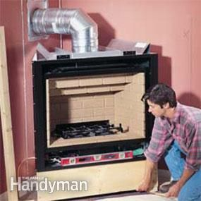 Gas Fireplace Installation
