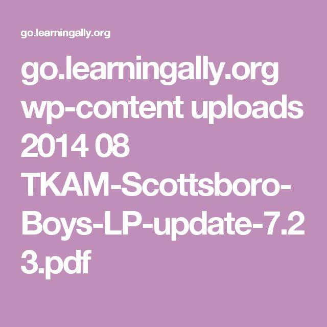 go.learningally.org wp-content uploads 2014 08 TKAM-Scottsboro-Boys-LP-update-7.23.pdf