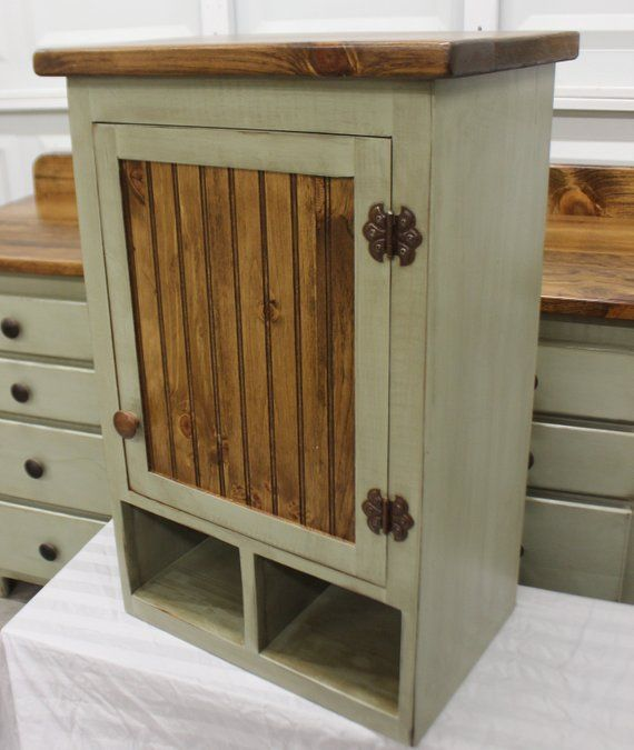Rustic Farmhouse Vanity Copper Sink 60 Sage Green Etsy With Images Farmhouse Vanity Copper Sink Green Kitchen Cabinets